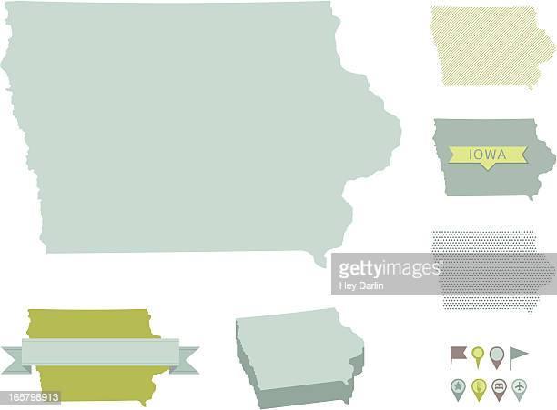 Iowa State Maps