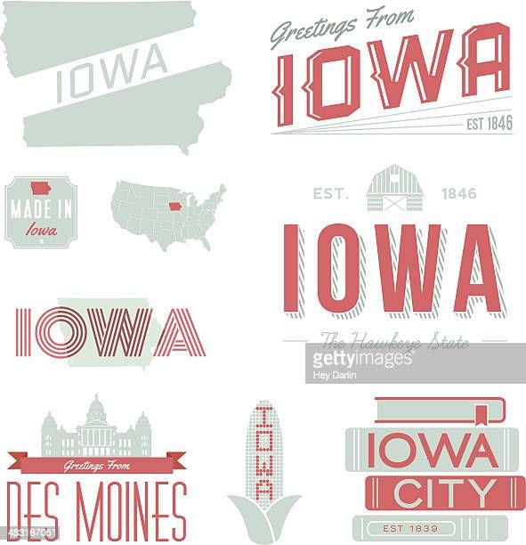 Iowa Typography