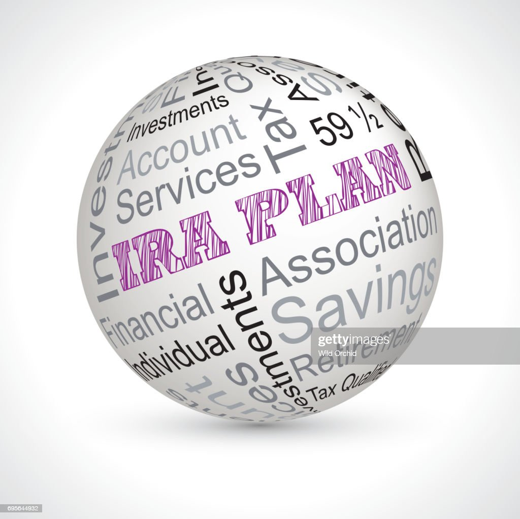 ira plan theme sphere with keywords