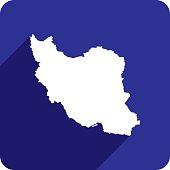 Iran Icon Silhouette