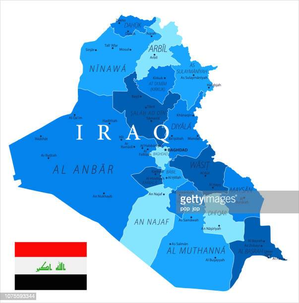 04 -  Iraq - Blue Spot Isolated 10