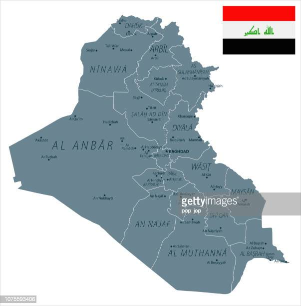 30 - Iraq - Grayscale Isolated 10