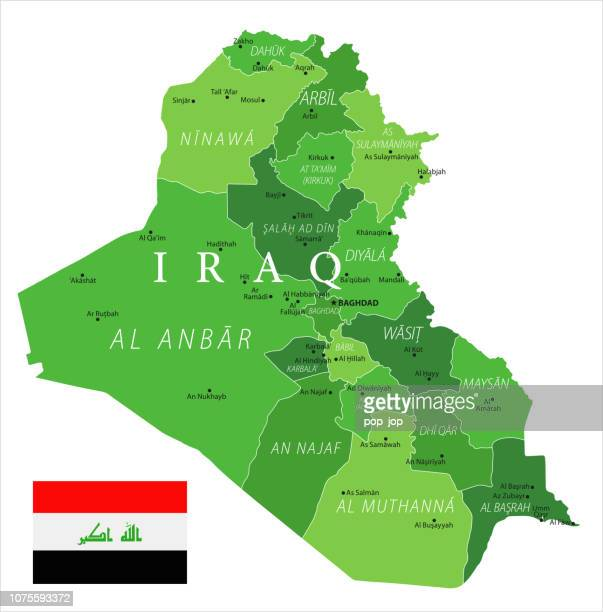 15 - Iraq - Green Isolated 10
