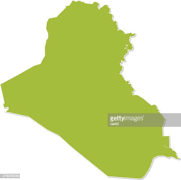 Iraq Map Middle East