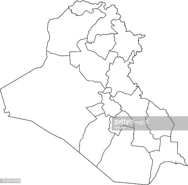 Iraq Stock Illustrations And Cartoons Getty Images - Iraq map outline
