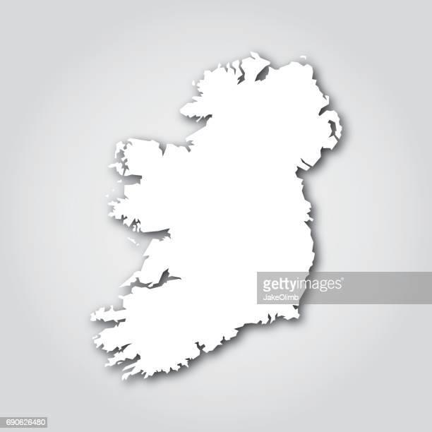 Ireland Silhouette White