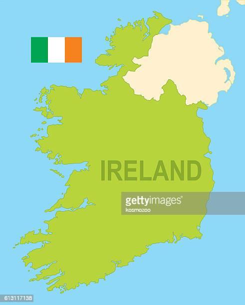 ireland - national border stock illustrations, clip art, cartoons, & icons