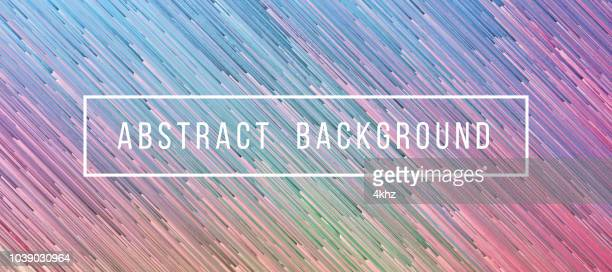 Iridescent Dynamic Lines Abstract Texture Background