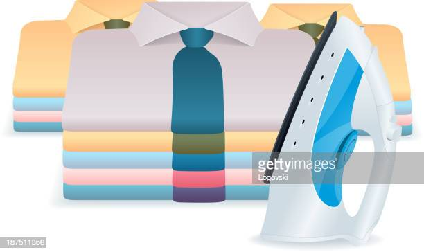 ironing - iron appliance stock illustrations, clip art, cartoons, & icons