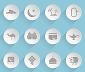 islam icon set
