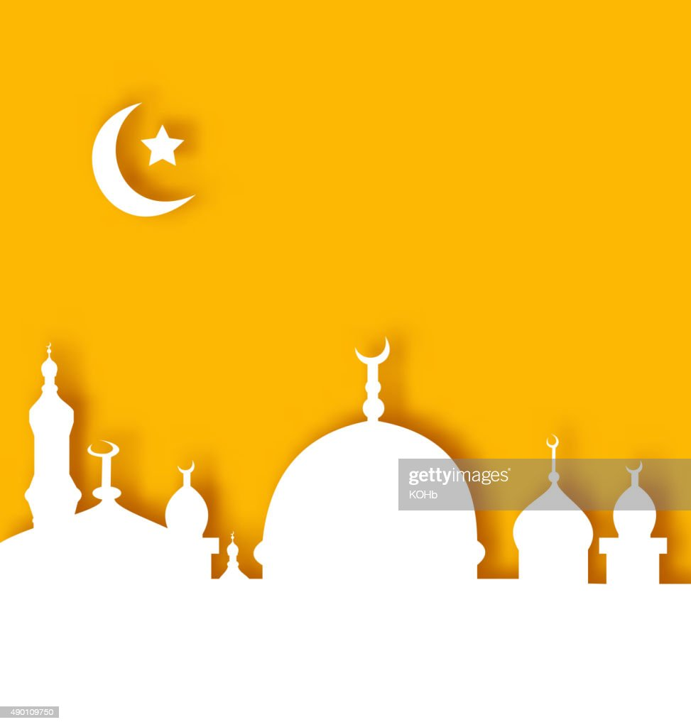 Islamic architecture background, Ramadan Kareem