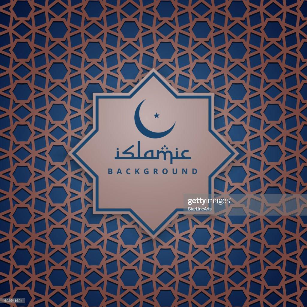 islamic background pattern design