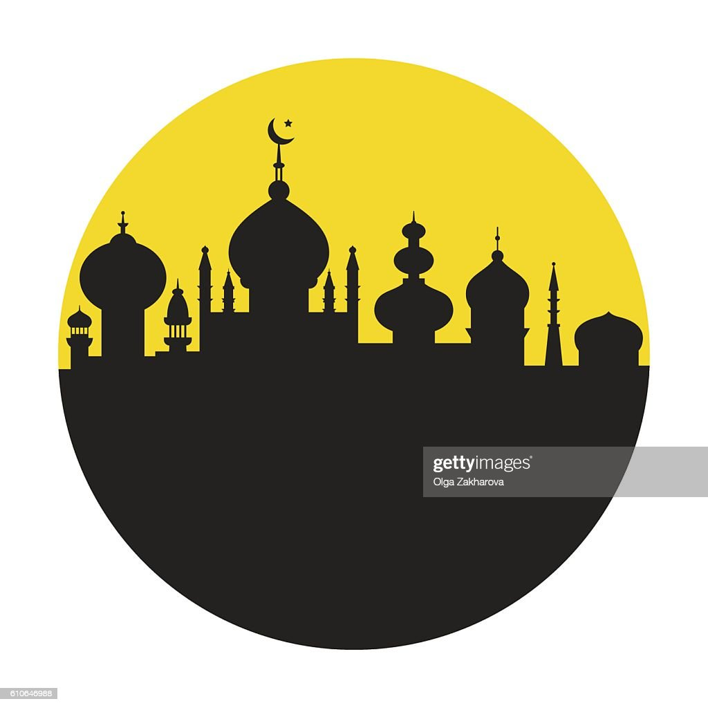 Islamic City in a Circle