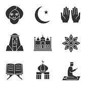 Islamic culture icons