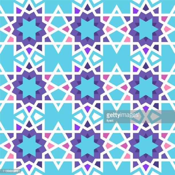 イスラム幾何学的ベクトルパターン設計 - イラン文化点のイラスト素材/クリップアート素材/マンガ素材/アイコン素材