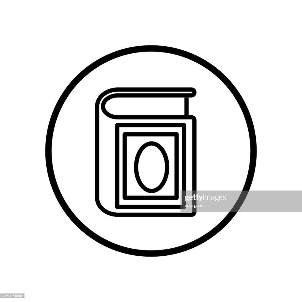 Islamic Icon, Quran icon-Vector Iconic Design