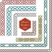 Islamic frame border clip art download 1000 clip arts page 1 islamic ornamental borders with corners vector thecheapjerseys Image collections
