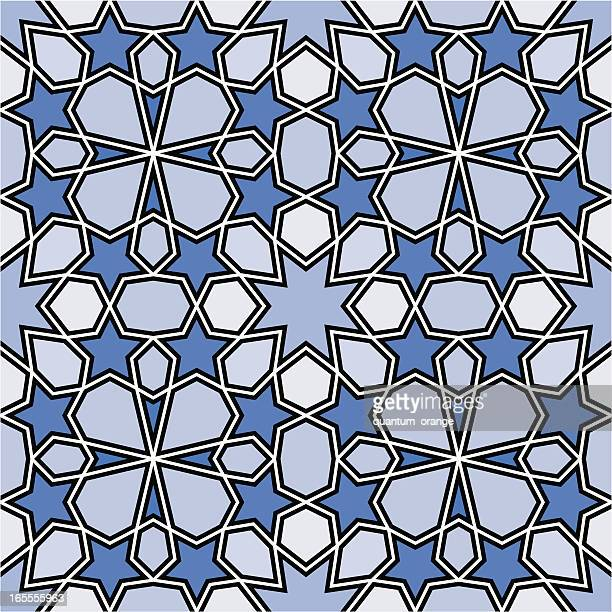 islamic pattern - iranian culture stock illustrations, clip art, cartoons, & icons