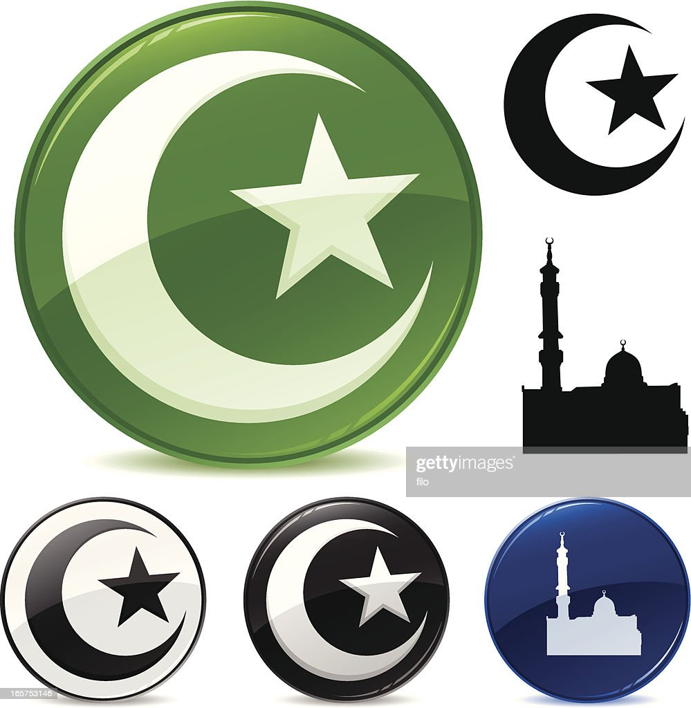 Islamic Symbols Vector Art Getty Images