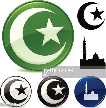 Islamic Symbols Vector Art Getty Images