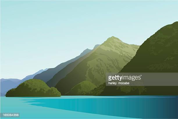 Island in Doubtful Sound