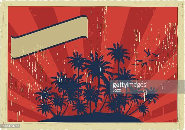 island mail - big island hawaii islands stock illustrations
