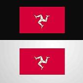 Isle of Man Flag banner design