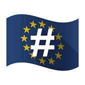 Isolated EU flaw with a hash tag
