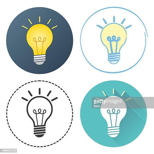 ilustrações, clipart, desenhos animados e ícones de lâmpada - lâmpada