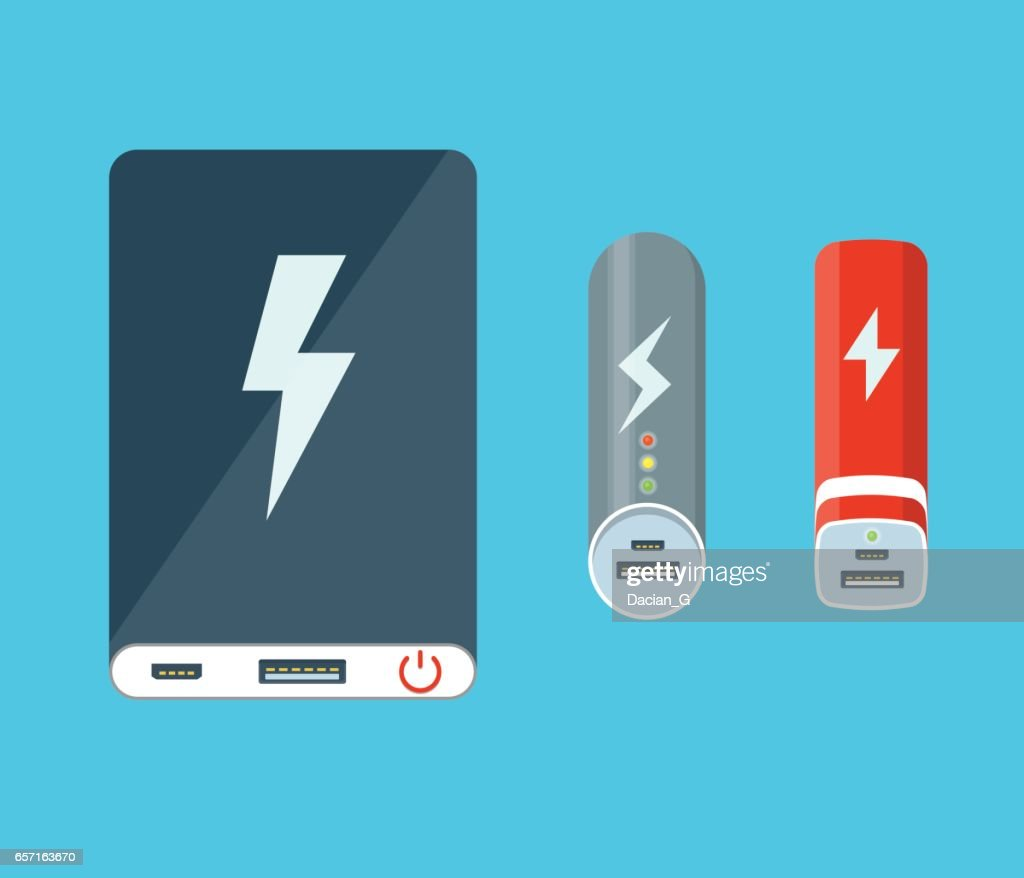 Isolated power banks.
