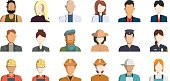 Isolated professions avatar.