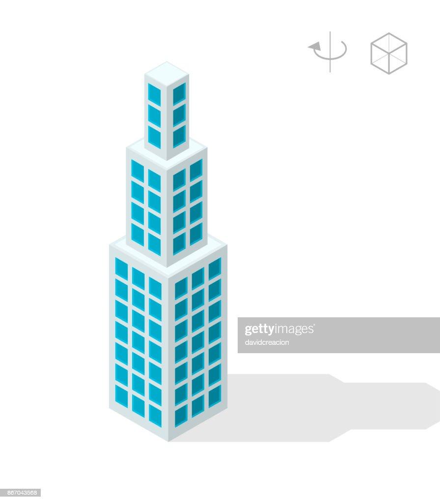 Isolated Skyscraper