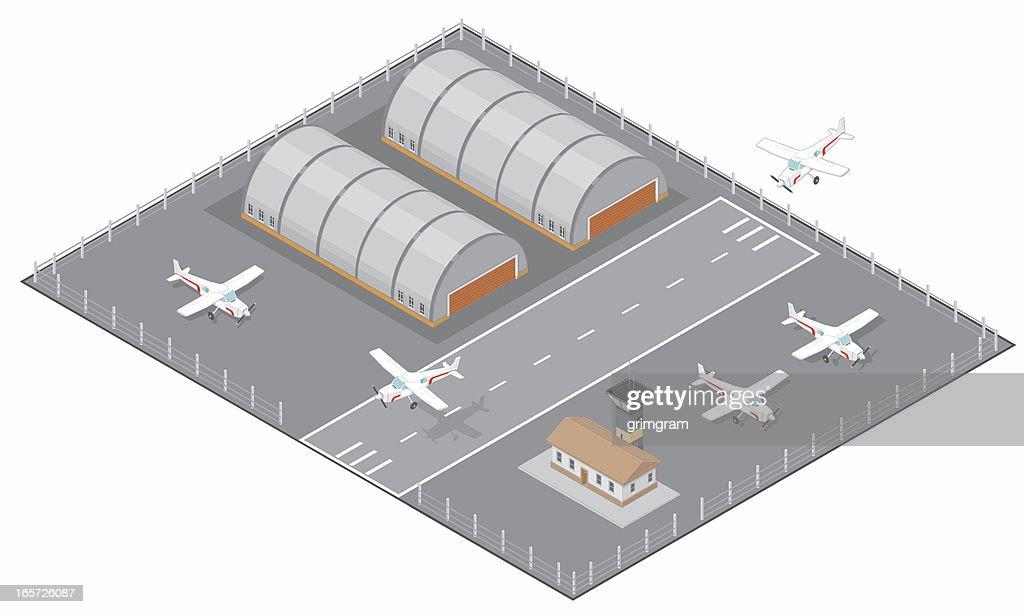 Isometric Airfield