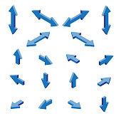 Isometric arrows