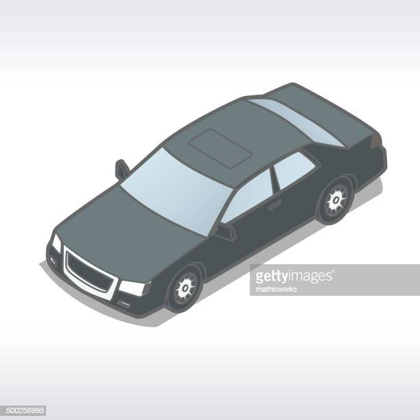 Isometric Auto Illustration