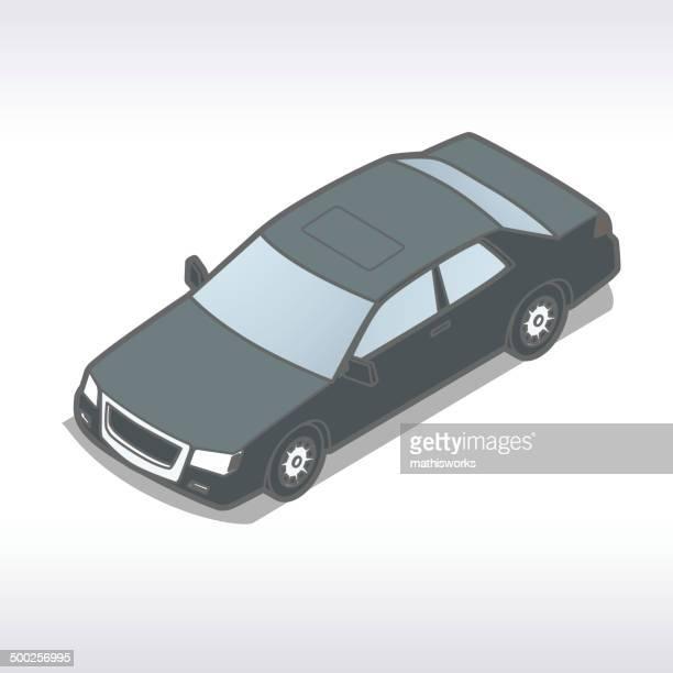 Isometric Auto Illustration