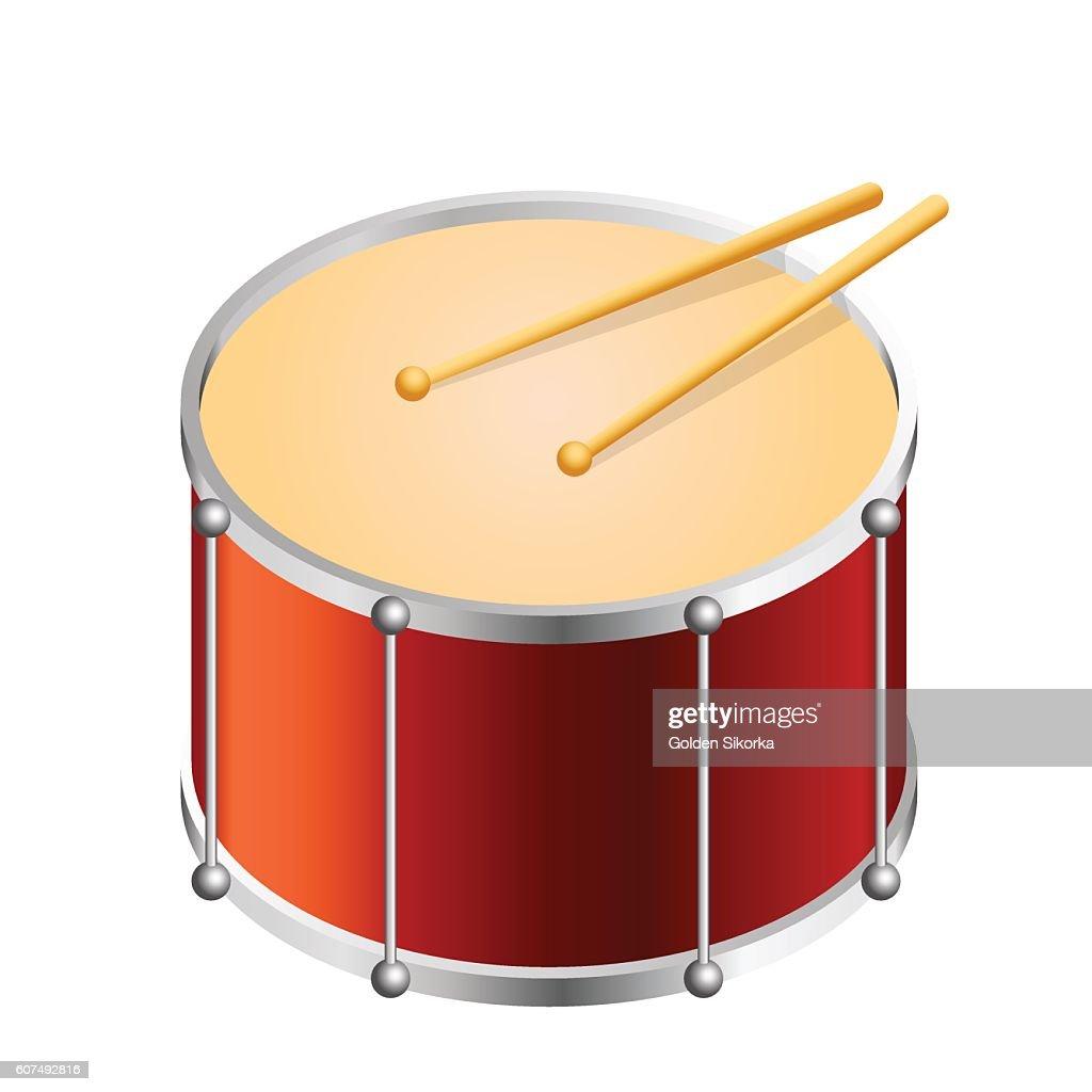 Isometric Bass drum