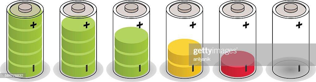isometric batteries
