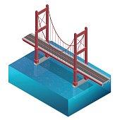 Isometric Bridge construction