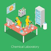 Isometric Chemical Research Laboratory
