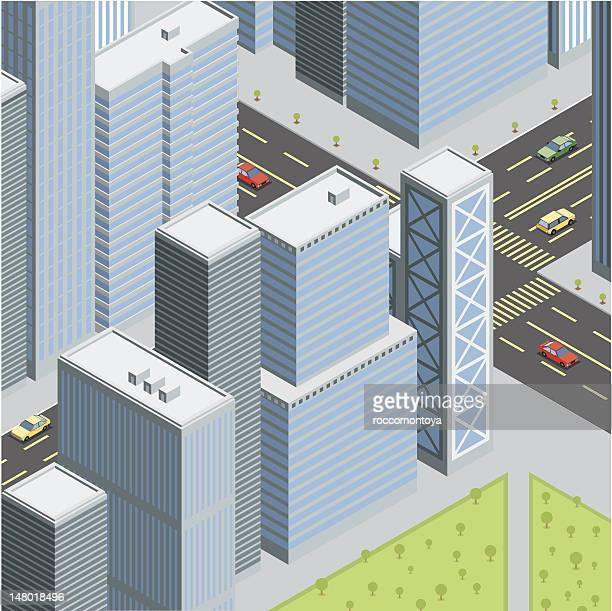 Isometric, City Life