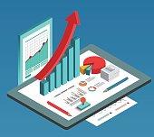 Isometric commercial data