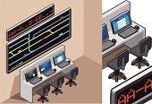isometric Control center