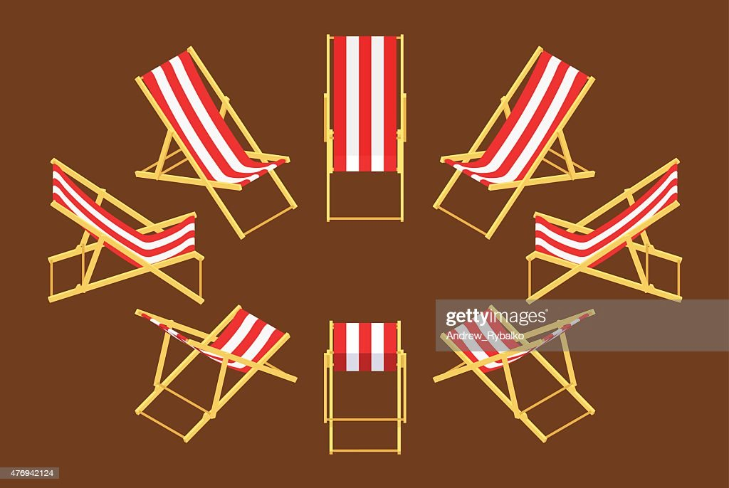 Isometric deck chair