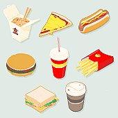 Isometric Food
