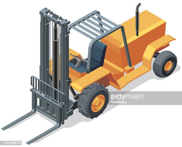 Isometric Forklift
