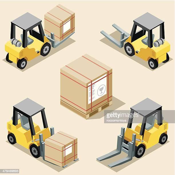 Isometric, Forklift