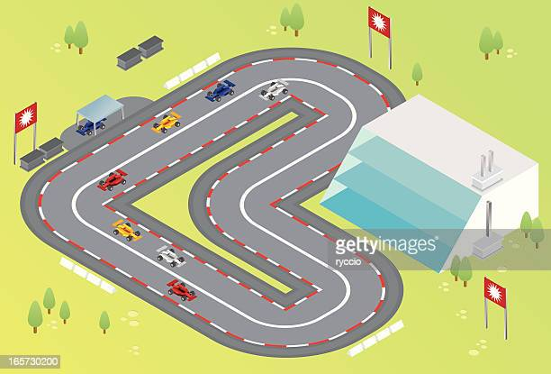 isometric formula one racing