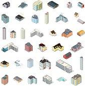 Isometric Generic Building Set.
