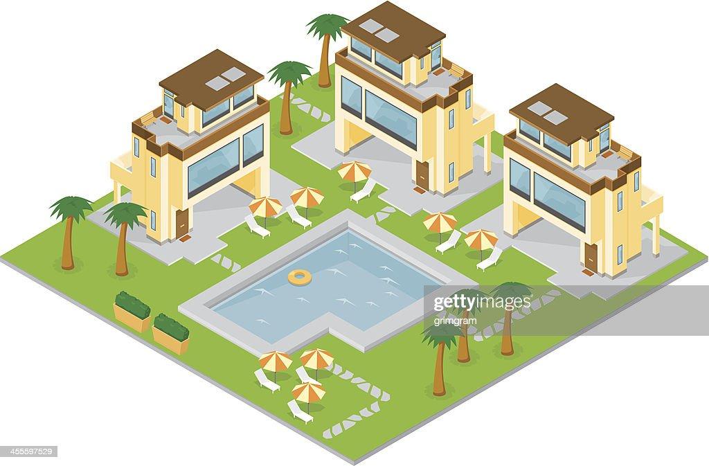 Isometric Holiday Resort